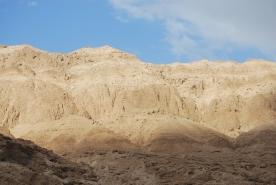 Hills along highway 90, Israel