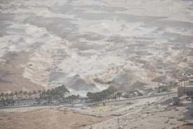 Roman Siege works at Masada