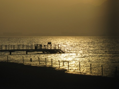 Sunrise at Red sea