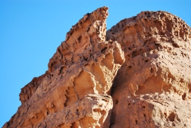 Close up view of Hoodoos