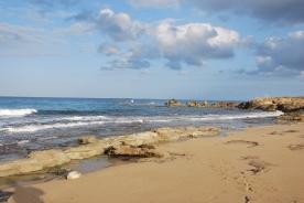 Achziv beach