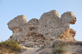 Remnants of ancient city walls