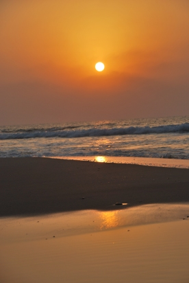 Beautiful sunrises can be enjoyed at Ashkelon